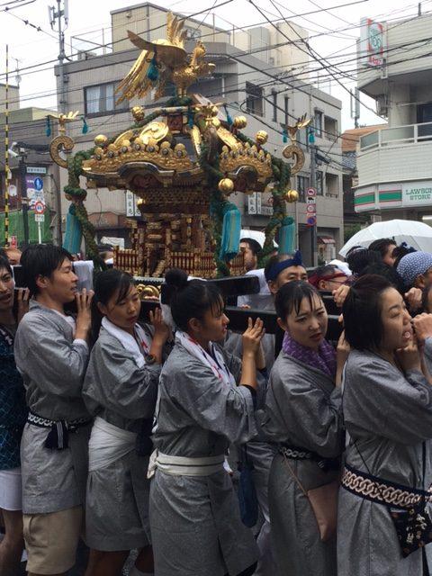 世田谷八幡宮例大祭 御神輿