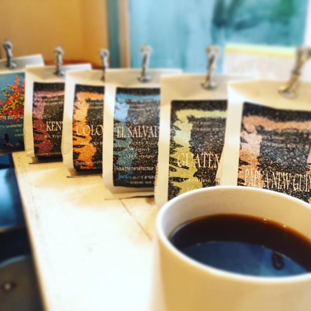 沢山のコーヒー