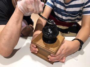 コーヒー豆,グラインド