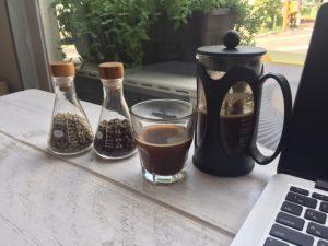 コーヒー(フレンチプレス)