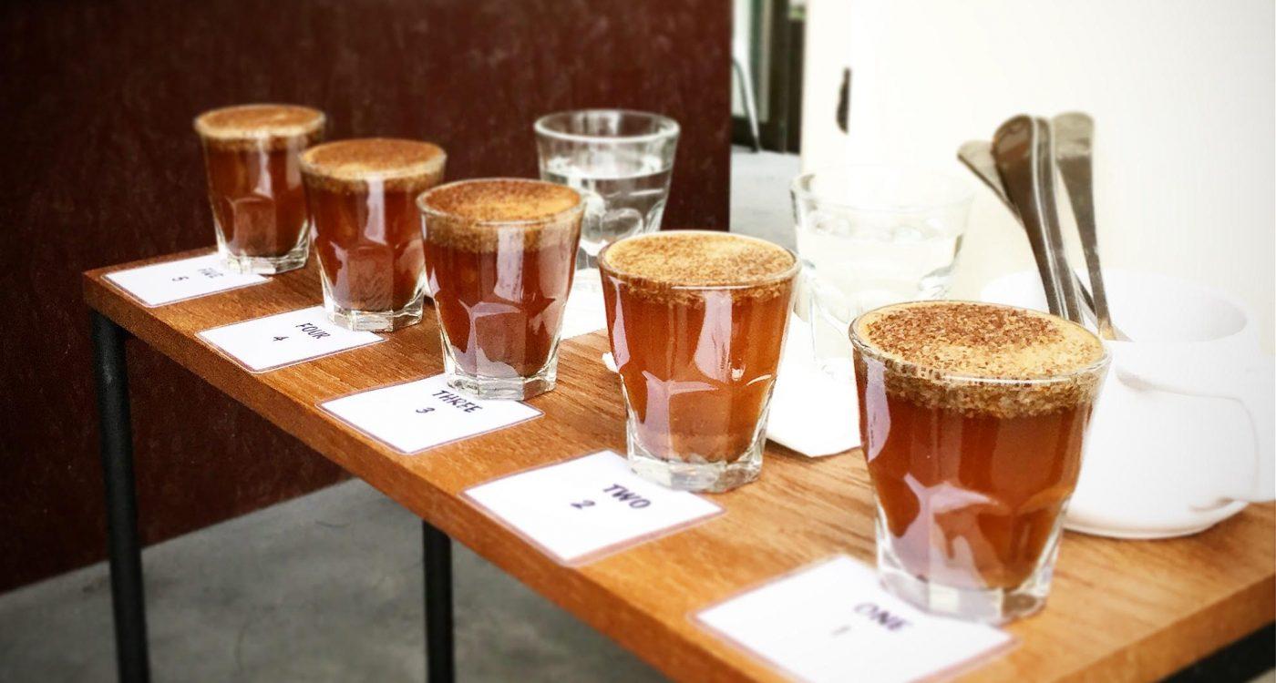 コーヒーカッピング