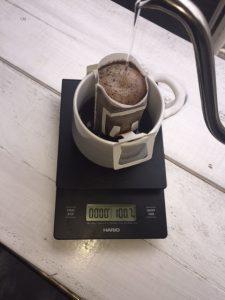 ドリップパックでフィルターコーヒー