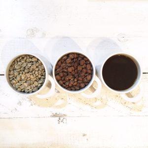 コーヒー豆がコーヒーになるまで