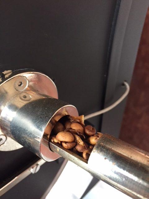コーヒー,焙煎,チェック
