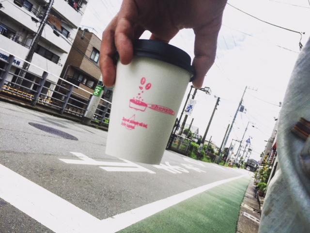 コーヒーをテイクアウト