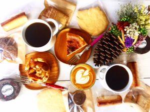 コーヒーとスイーツでパーティー