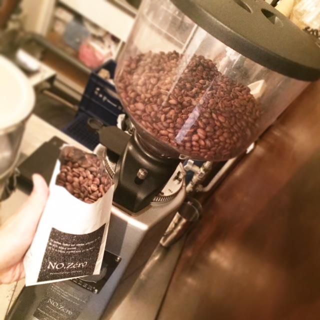 No.Zéro コーヒー豆