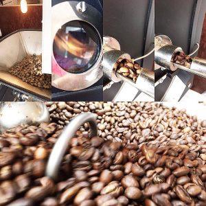 コーヒー,焙煎