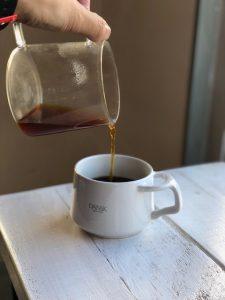 コーヒー、プアオーバー