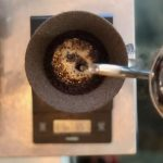 コーヒー, ハンドドリップ, 蒸らし